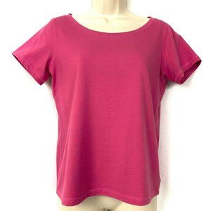 Eileen Fisher Top Pink S Organic Cotton